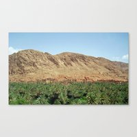 morocco Canvas Prints featuring Morocco by dora-isa