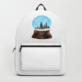 Let it Snow(globe) Backpack