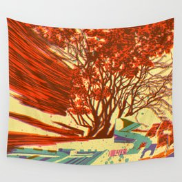 A bird never seen before - Fortuna series Wall Tapestry