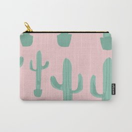 Rose pastel cactus Carry-All Pouch