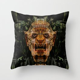 Soulless Corpse Throw Pillow