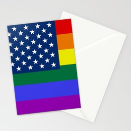 American Pride Flag Stationery Cards