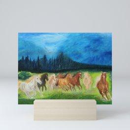 Horses Mini Art Print