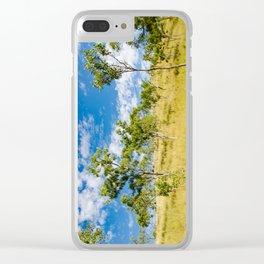 Savannah landscape Clear iPhone Case