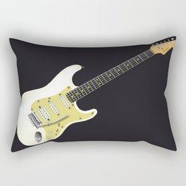 Solid Electric Rectangular Pillow
