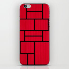 Mondrian Bauhaus Pattern #10 iPhone Skin