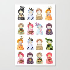 PaperDolls Canvas Print