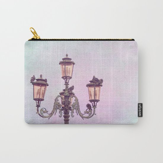 MAGICAL VENICE | Pink Lanterns Carry-All Pouch