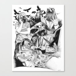 Ominous Farewell Canvas Print