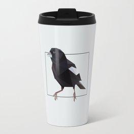 Colorado – Lark Bunting [Fly Home: State Bird Collection] Travel Mug