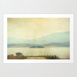 Distant Art Print