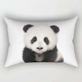 Panda Cub Rectangular Pillow