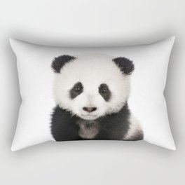 Panda Cub Rectangular Pillow