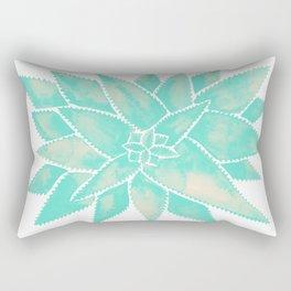 Aloe Vera – Mint Palette Rectangular Pillow
