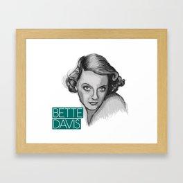 1930s Bette Framed Art Print