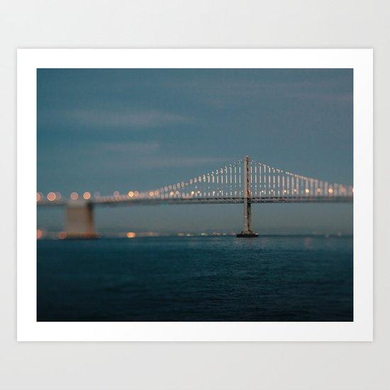 Bay Bridge (75th Anniversary) Art Print