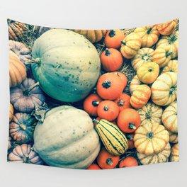 Pumpkins Wall Tapestry