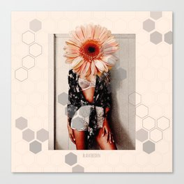 Flower Incognito III Canvas Print