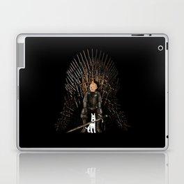 White Hound Laptop & iPad Skin