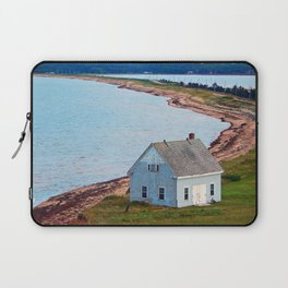 Beach and Causeway, seen from Above Laptop Sleeve