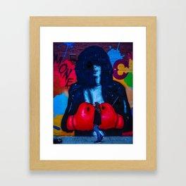 RAMONE (Street Art) Framed Art Print