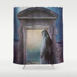 Only Time Shower Curtain