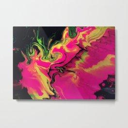 Cosmic Avalanche Metal Print