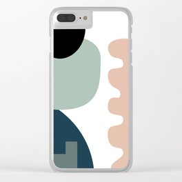 Shape study #18 - Stackable Collection Clear iPhone Case