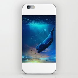 Blue Whale iPhone Skin