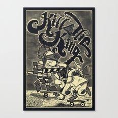 KILL THE KING AGAIN. Canvas Print