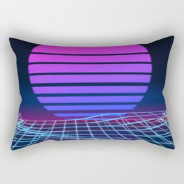 Vapor Wave Classic Rectangular Pillow