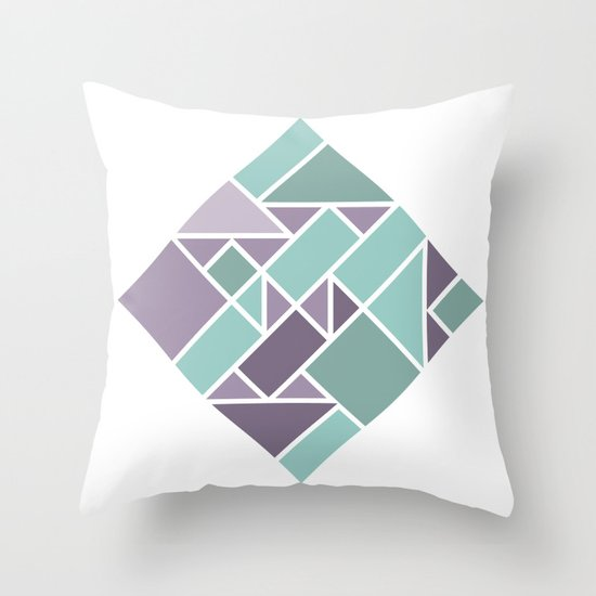 Shapes 006 Throw Pillow