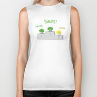 sublime Biker Tanks featuring Sublime! by Caphastrotes
