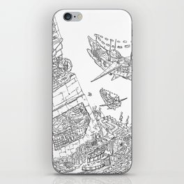 The Tower of Selfish.(Line) iPhone Skin