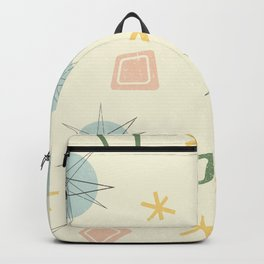 Atomic Age Planet Art Backpack
