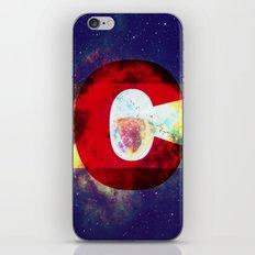 Colorado Flag/Galaxy Print iPhone Skin