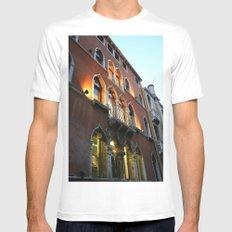 Lit Venice Residence Mens Fitted Tee White MEDIUM