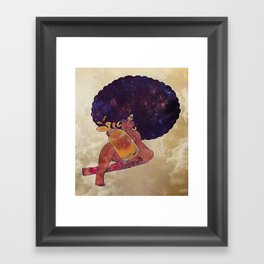 Melanin Queen Framed Art Print