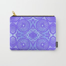 bowie: blue blue electric blue Carry-All Pouch