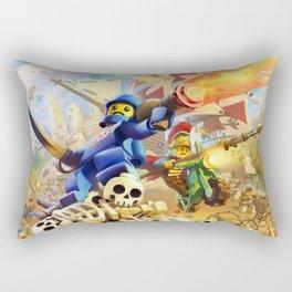 BrikWars! Rectangular Pillow