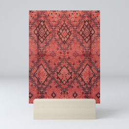 Traditional Moroccan Berber Design Style D13 Mini Art Print