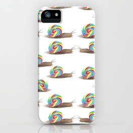 Candied Snails iPhone Case