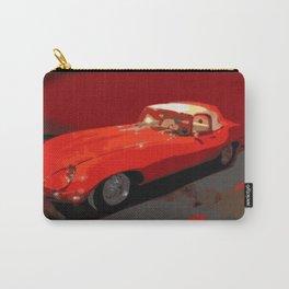 Vintage 1969 Jaguar  | Nadia Bonello Carry-All Pouch