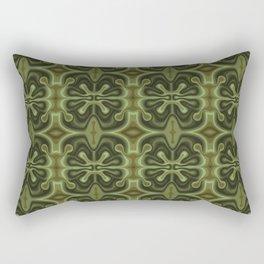 Green lava Rectangular Pillow