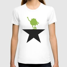 Mike Monster Wazowski Inc Werk Hamilton Schuyler Sisters T-shirt