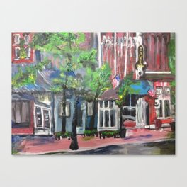 Downtown Willoughby, Ohio Canvas Print