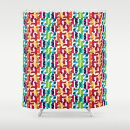 Number Crunching Shower Curtain