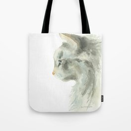 lynx point siamese cat Tote Bag