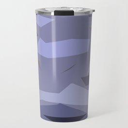 Fragmented Violet Travel Mug