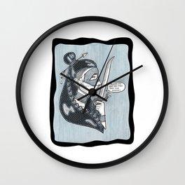 Cuidado! Wall Clock